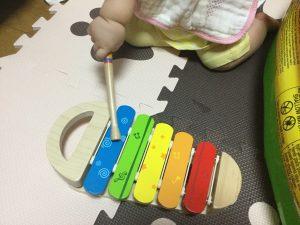 知育おもちゃ 木琴 夢中