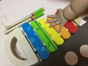 1歳なりたて 知育おもちゃ 木琴