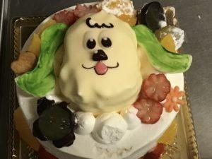エルブ 徳島 キャラケーキ